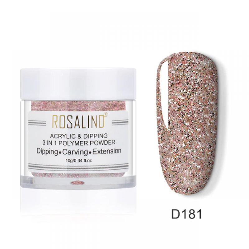 PUDRA ACRYL 3 IN 1 ROSALIND D181