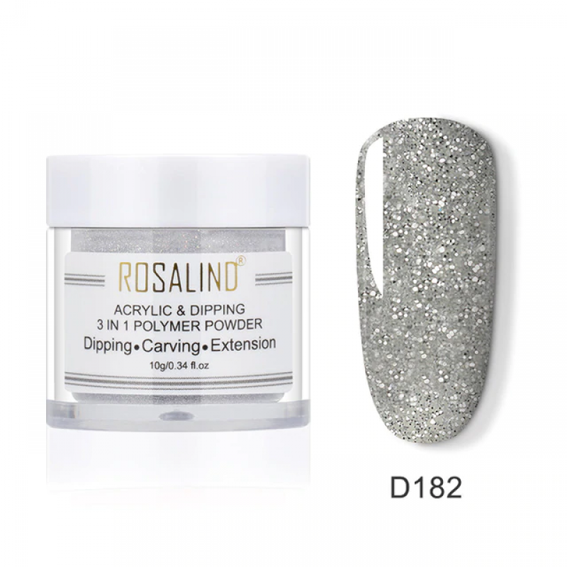 PUDRA ACRYL 3 IN 1 ROSALIND D182
