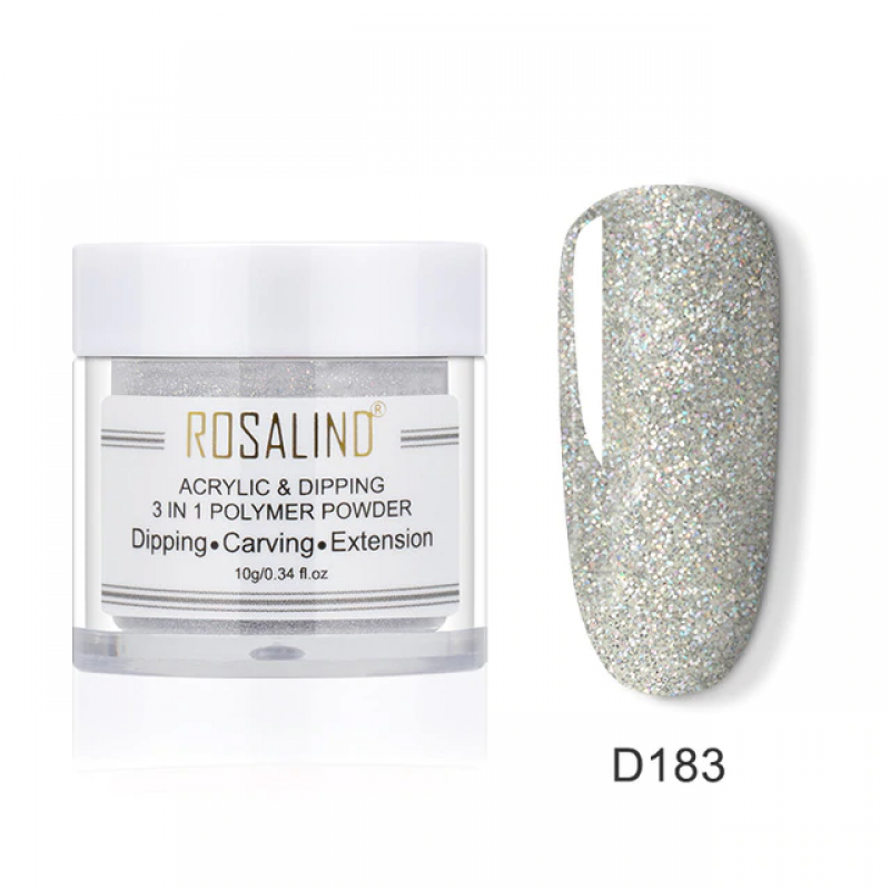 PUDRA ACRYL 3 IN 1 ROSALIND D183
