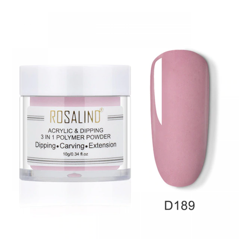 PUDRA ACRYL 3 IN 1 ROSALIND D189