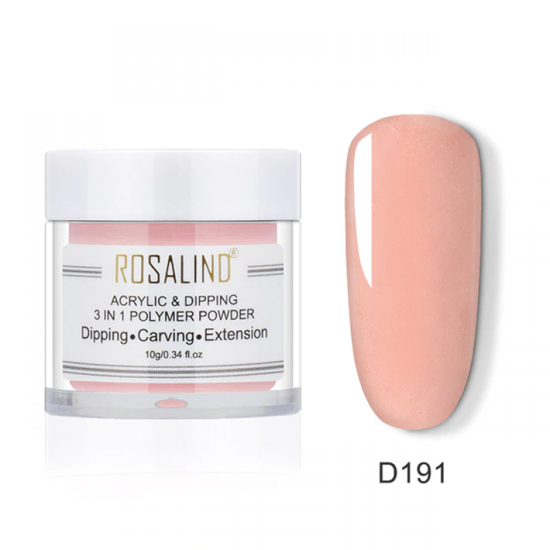 PUDRA ACRYL 3 IN 1 ROSALIND D191